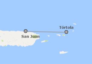 Puerto Rico et les îles Vierges britanniques (Petites Antilles): San Juan et Tortola