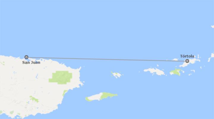 Puerto Rico et les îles Vierges britanniques (Petites Antilles): San Juan de Porto Rico et Tortola