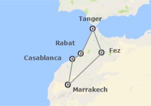 Maroc: Les Villes Impériales de Marrakech