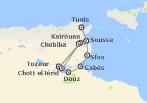 Tunisie: Désert en 4x4 et plages