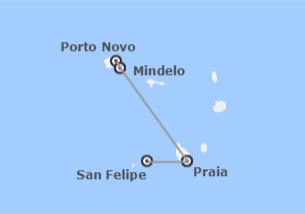 Cap-Vert: São Vicente, Santo Antão, Santiago et Fogo