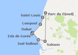 Sénégal: Dakar, St Louis et Saloum