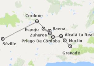 Espagne: Route d'Al-Andalus