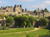 Vols pas chers La Rochelle - Carcassonne, LRH - CCF