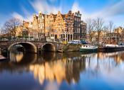 Vols pas chers La Rochelle - Amsterdam, LRH - AMS