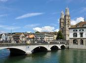 Vols pas chers La Rochelle - Zurich, LRH - ZRH