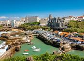 Vols Béziers Biarritz , BZR - BIQ