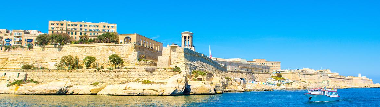Malte: Route dans les Îles des Chevaliers de l'Ordre de Malte I, à votre guise en voiture