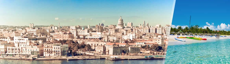 Cuba: La Havane et Varadero, séjour à la plage à votre guise