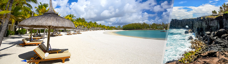 Îles de l'Océan Indien: Île de la Réunion et Île Maurice, séjour à la plage à votre guise