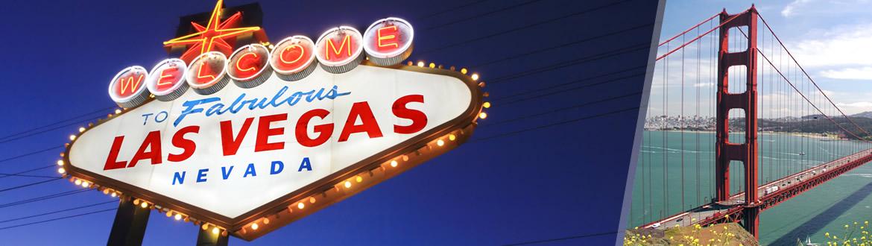 États-Unis: Las Vegas et San Francisco, les nuits à votre guise