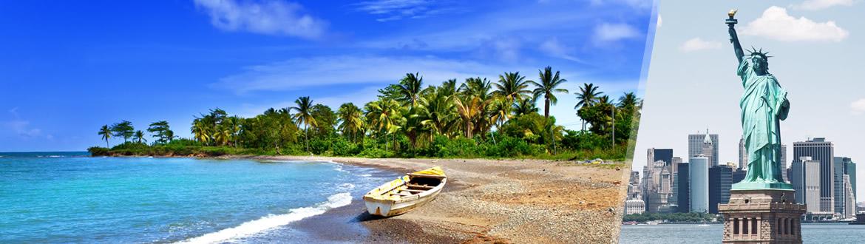 États-Unis et la Jamaïque: New York et Montego Bay, séjour à la plage à votre guise