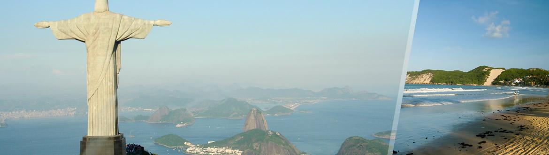 Brésil: Rio de Janeiro et Natal, séjour à la plage à votre guise