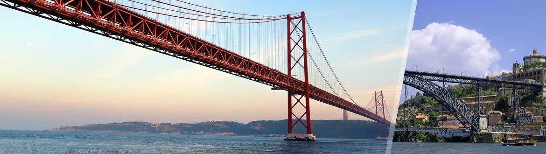 Portugal: Lisbonne et Oporto en avion, les nuits à votre guise