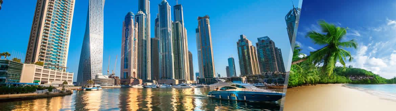 Émirats Arabes Unis et Îles de l'Océan Indien: Dubaï et les Seychelles, séjour à la plage à votre guise