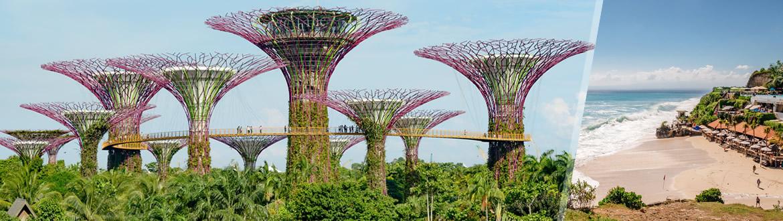 Singapour et Indonésie: Singapour et Bali, les nuits à votre guise