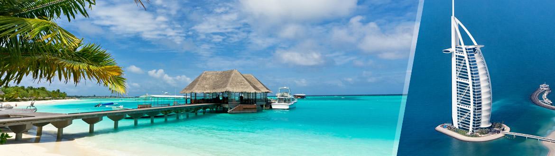 Émirats Arabes Unis et Îles de l'Océan Indien: Dubaï et les Maldives, séjour à la plage à votre guise