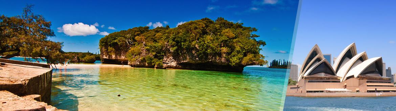 Australie et Nouvelle-Calédonie: Sydney et Nouméa, séjour à la plage à votre guise