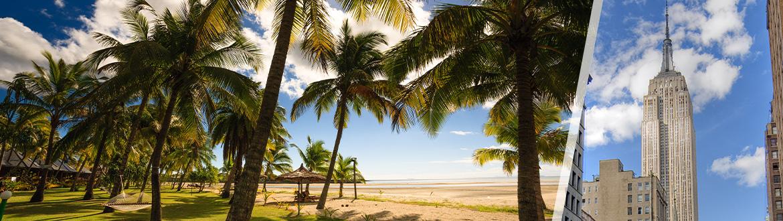 États-Unis et Îles Fidji: New York et Viti Levu, séjour à la plage à votre guise