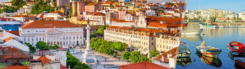 Portugal: Lisbonne et Algarve, sur mesure, avec séjour à la plage