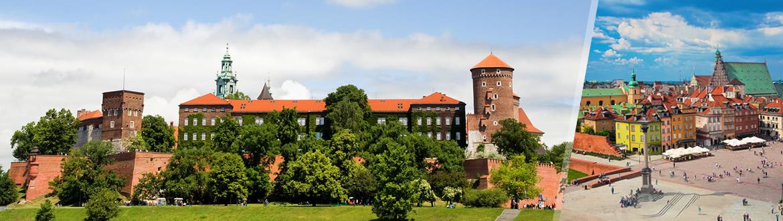 Pologne: De Varsovie à Cracovie, circuit classique