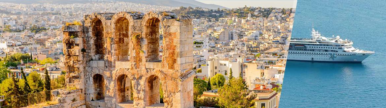 Grèce et Turquie: Athènes et Croisière en Mer Égée, séjour et croisière