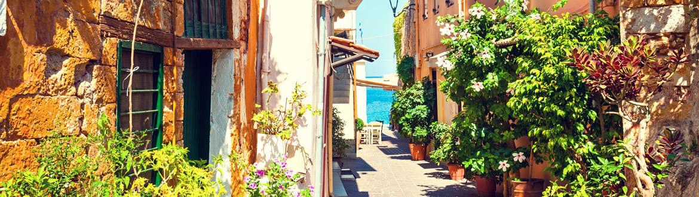 Grèce: Athènes, Péloponnèse et la Crète, circuit avec séjour à la plage