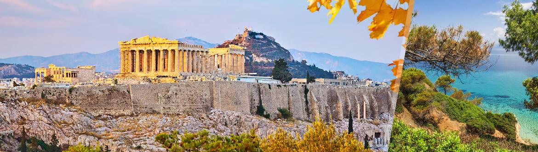 Grèce: Athènes et La Chalcidique en avion, sur mesure, avec séjour à la plage