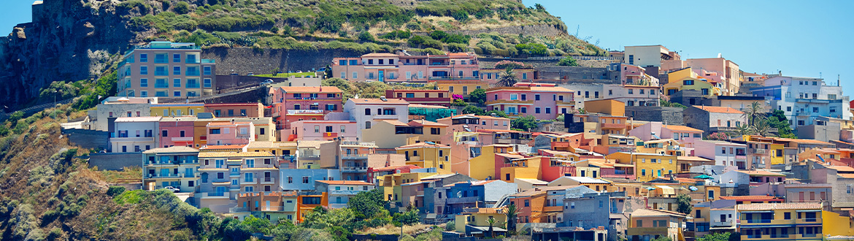Italie (Sardaigne) et France (Corse): Route depuis Cagliari, à votre guise en voiture