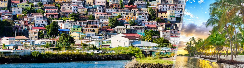 Antilles Françaises: Martinique et Guadeloupe, séjour à la plage à votre guise