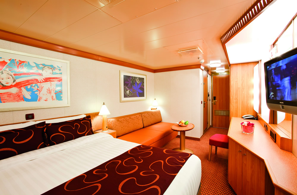 Cat gories et cabines du bateau costa pacifica costa for Chambre quadruple costa magica
