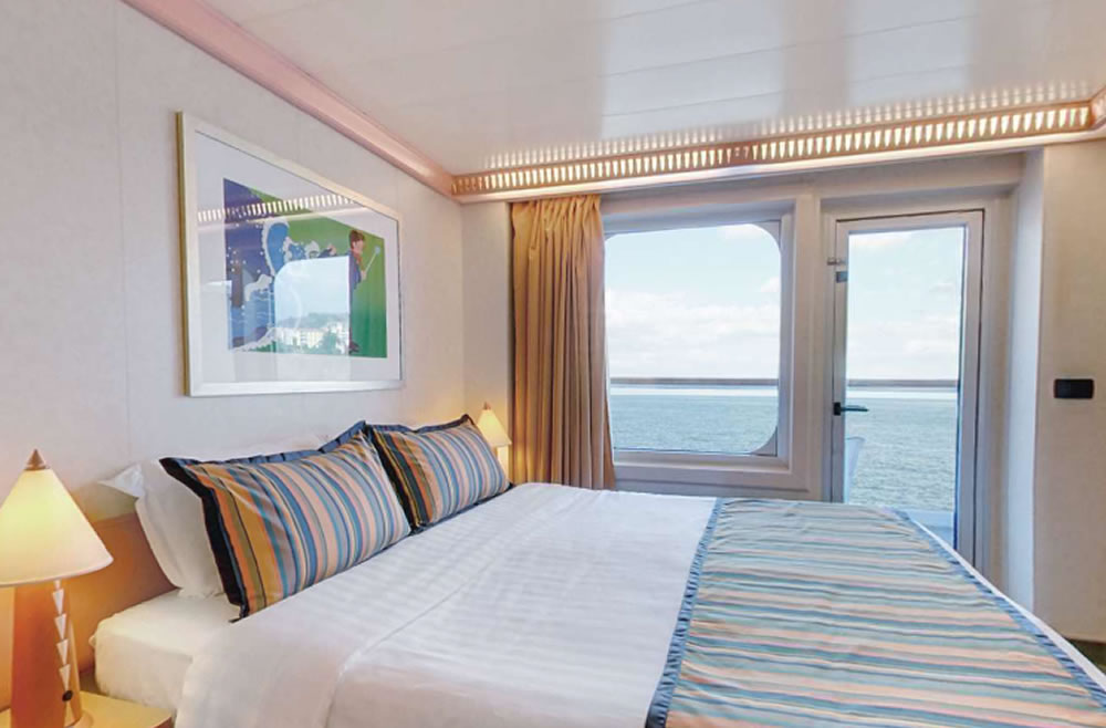 Cat gories et cabines du bateau costa magica costa for Chambre quadruple costa magica