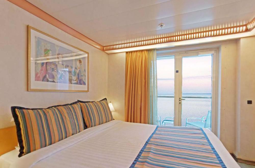 Cat gories et cabines du bateau costa mediterranea costa for Chambre quadruple costa magica