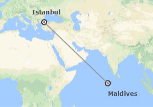 Turquie et îles de l'océan Indien