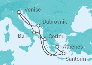 croisi re italie gr ce croatie vols inclus d s 611 bateau costa deliziosa costa. Black Bedroom Furniture Sets. Home Design Ideas
