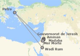 Jordanie: Jordanie avec Wadi Rum