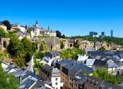 Vols Béziers Luxembourg , BZR - LUX