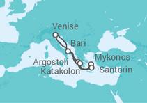 Venise et Iles Grecques