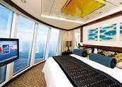 Catégorie H2 - Deluxe Owner's Suite avec Grand Balcon H2