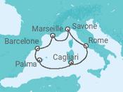 Itinéraire -  Éclat de la Méditerranée - Costa Croisières