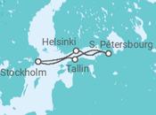 Itinéraire -  Joyaux de la Baltique - Costa Croisières