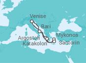 Itinéraire -  Iles Grecques - Costa Croisières