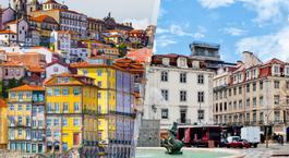 Portugal: Porto et Lisbonne en avion