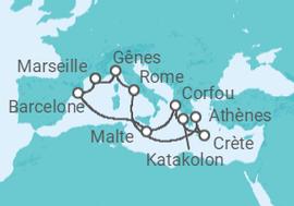 croisiere grece depart marseille