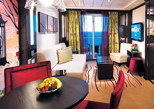 Catégorie H4 - Villa Familiale avec 2 Chambres et Balcon H4