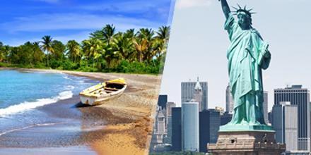 États-Unis et la Jamaïque